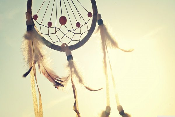 Image of a dream catcher by unspalash