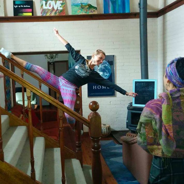 Retreat volunteers live together in the main communal house