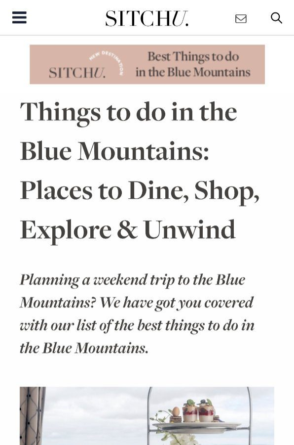 Things to do in the Blue Mountains by Sitchu